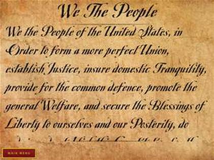 the preamble - constitution for middle schools